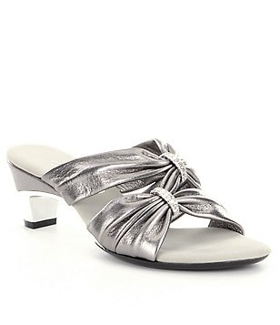 Onex Kylee Metallic Leather Sandals