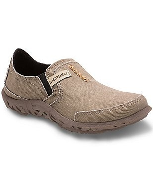 Merrell Boy´s Canvas Honeycomb Design Slip-On Slippers
