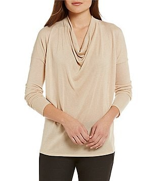Katherine Kelly Lucia Cowl Neck Knit
