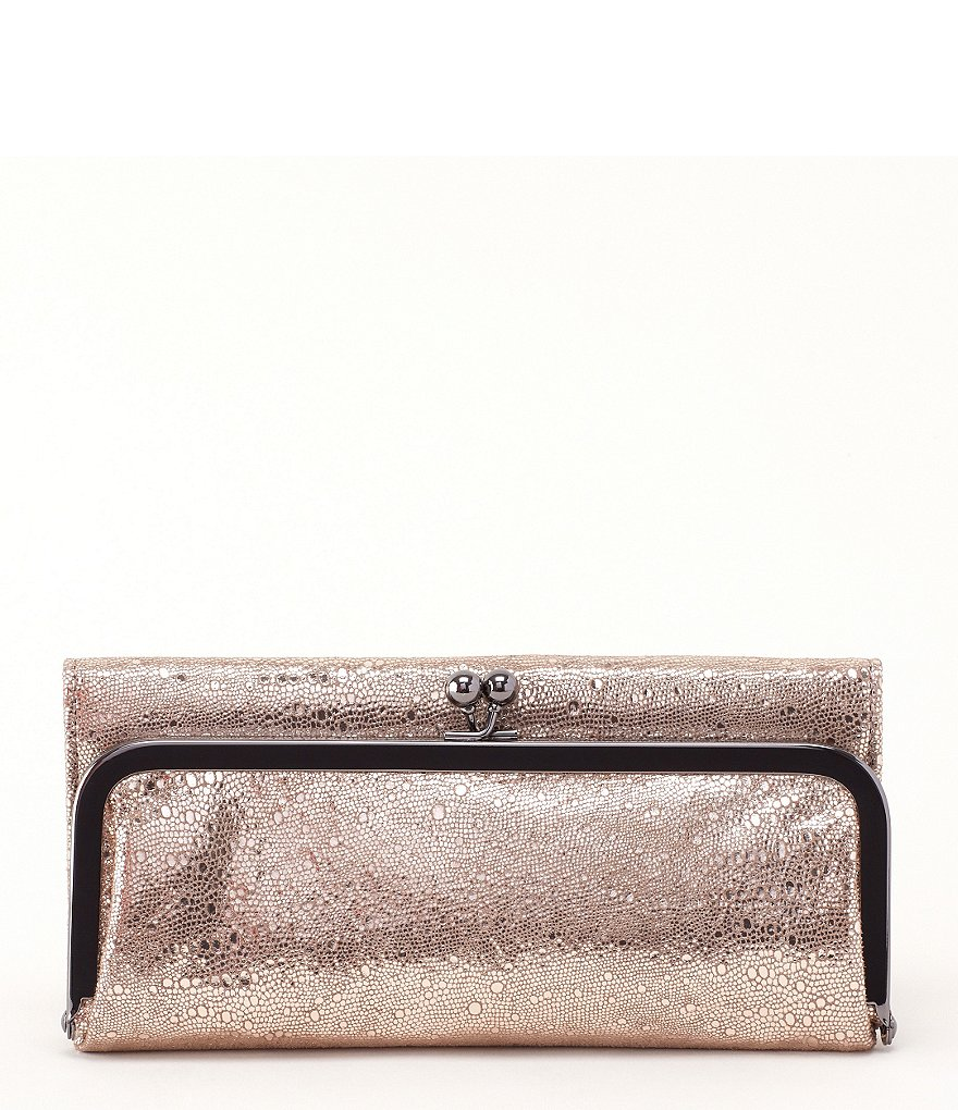 Hobo Rachel Metallic Bifold Wallet