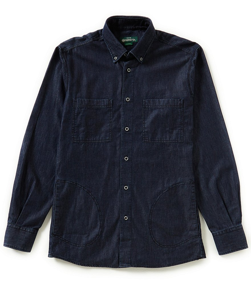 Beretta Denim Long-Sleeve Woven Shirt