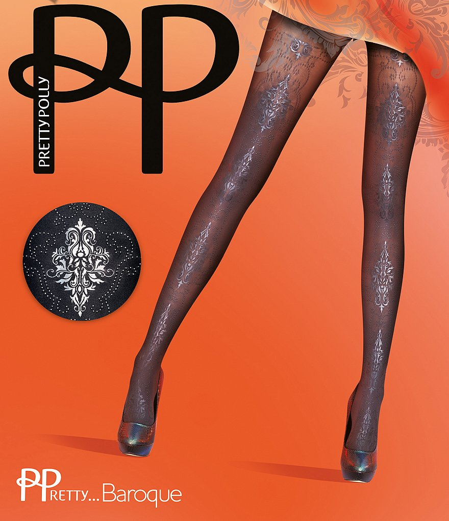 Pretty Polly Gothic Baroque Tights
