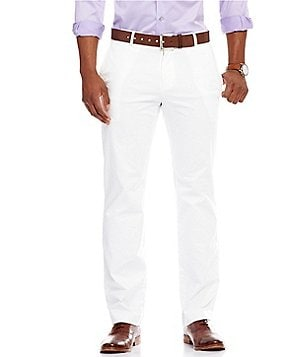Murano Wardrobe Essentials Modern Straight Fit Flat-Front Washed Chino Pants