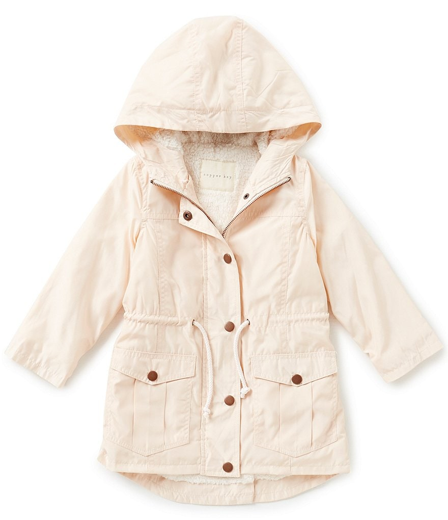 Copper Key Little Girls 4-6X Hooded Anorak Jacket