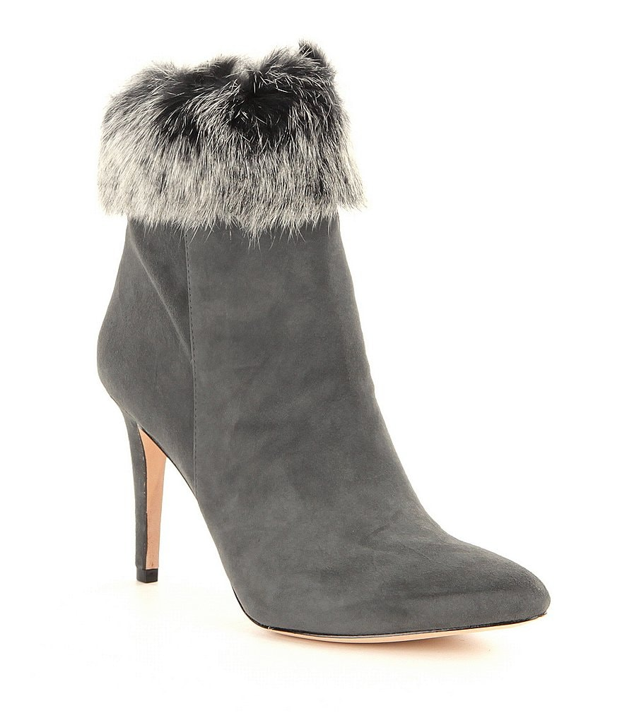 Antonio Melani Kylan Rabbit Fur Dress Booties