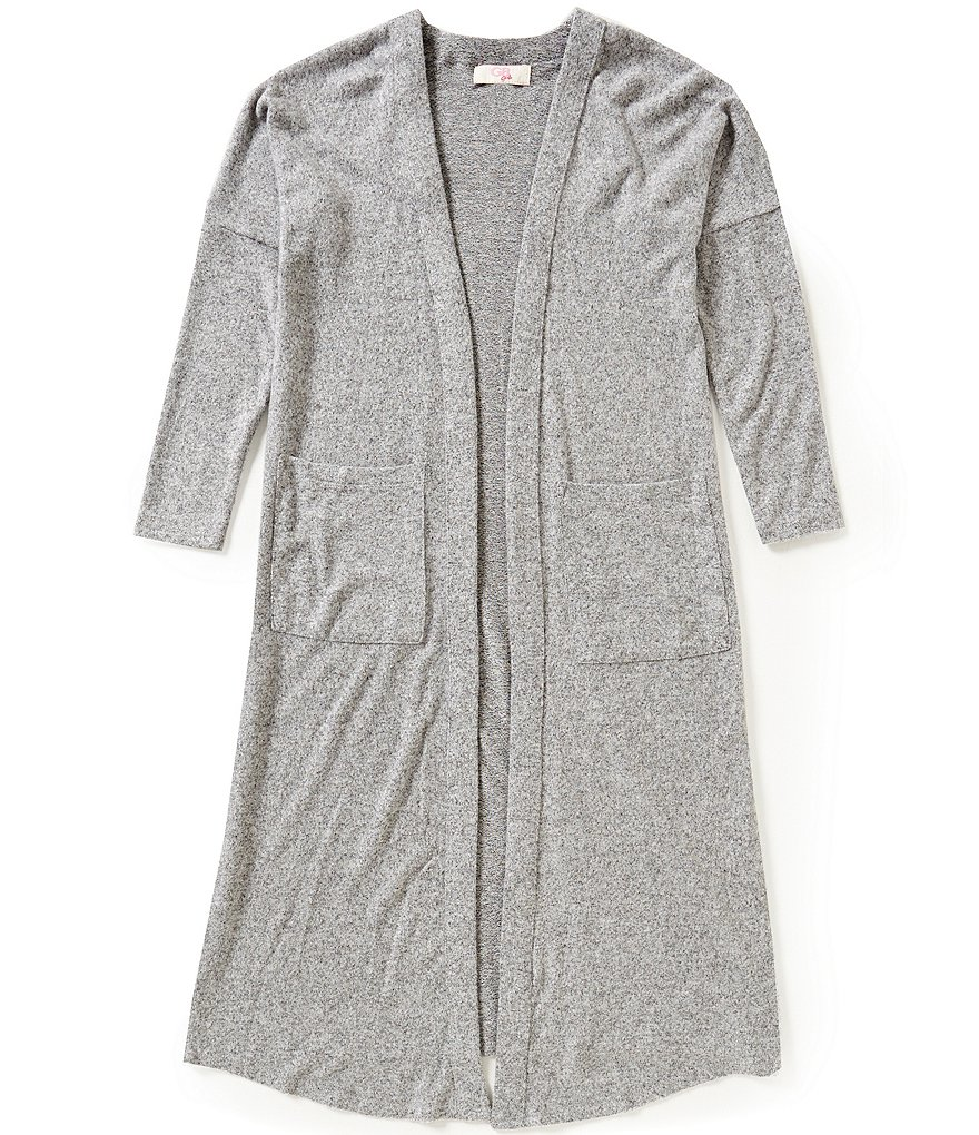 GB Girls Big Girls 7-16 Long-Sleeve Duster Top
