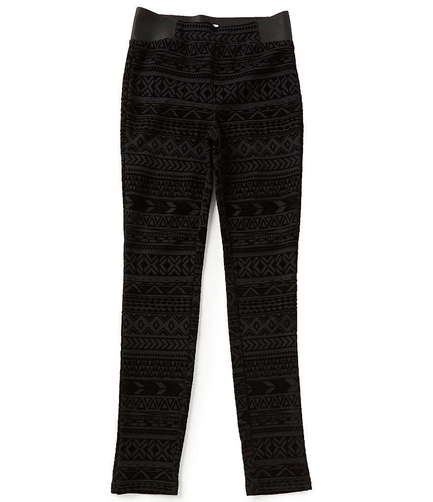 GB Girls Big Girls 7-16 Tribal Print Leggings
