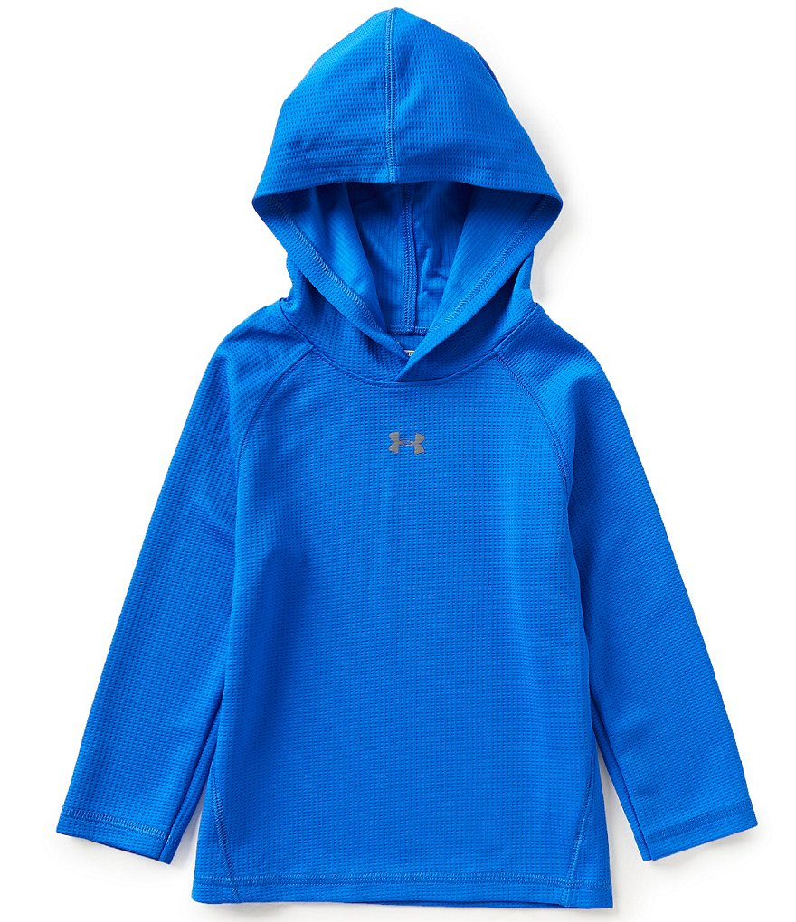 Under Armour Little Boys 2T-7 Waffle-Knit Hoodie