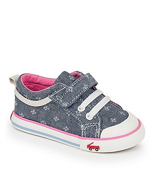 See Kai Run Girl´s Kristin Canvas Hook & Loop Sneakers