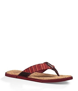 UGG® Men´s Braven Oiled Nubuck Slip On Leather Lined Flip Flops