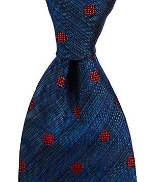 Missoni Dotted Traditional Silk Tie