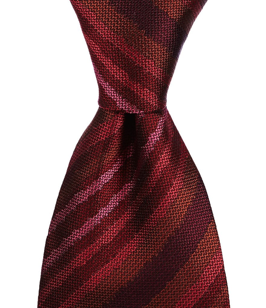Missoni Uneven-Striped Traditional Silk Tie