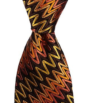 Missoni Zigzag Traditional Silk Tie