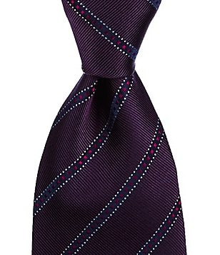 Missoni Track-Striped Traditional Silk Tie