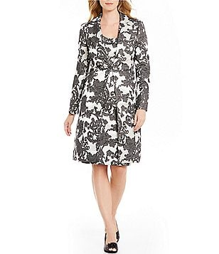 Albert Nipon 2-Piece Jacket/Dress Suit