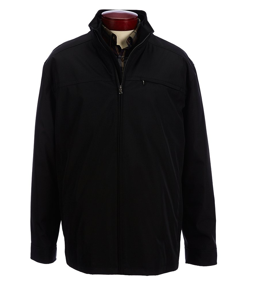 Roundtree & Yorke Big & Tall Synthetic Hipster Jacket