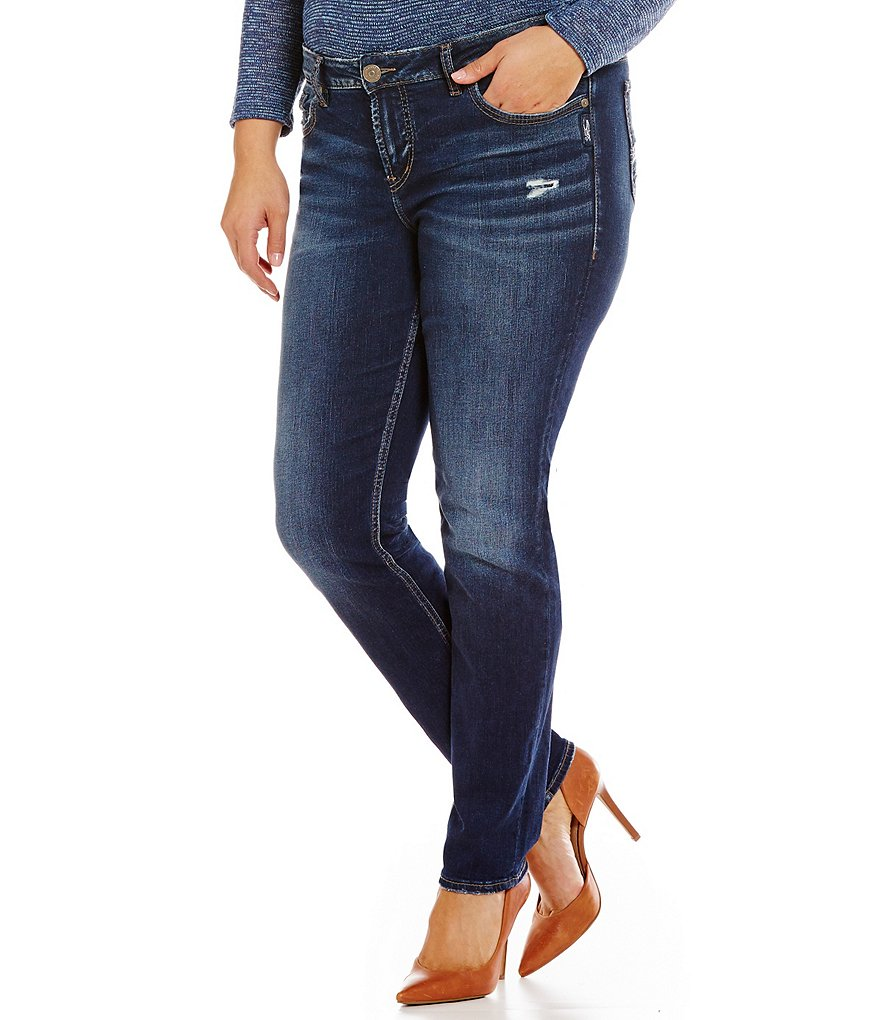 Silver Jeans Co. Plus Aiko Mid Skinny Jeans