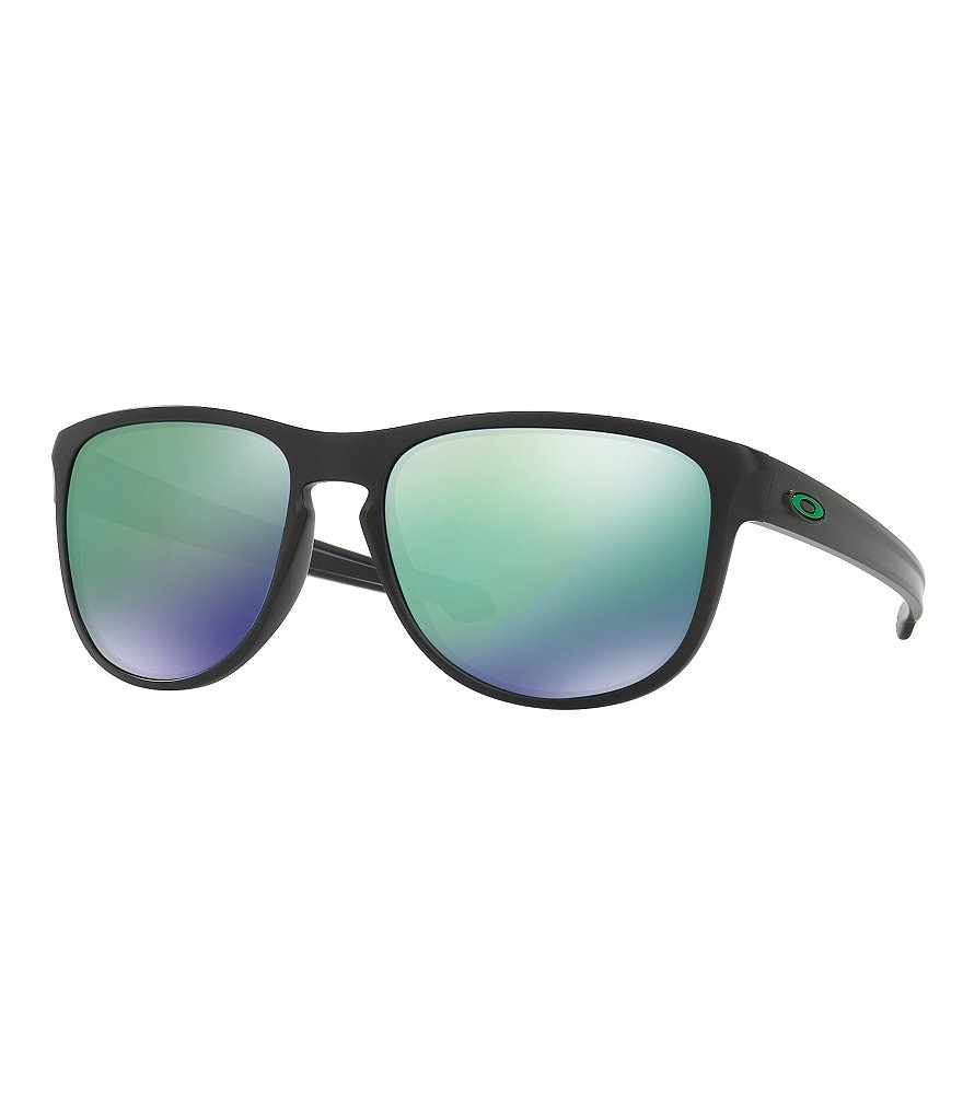 Oakley Sliver Mirrored Rounded Square Sunglasses