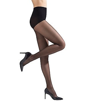Natori Crystal Sheer Control Top Hosiery