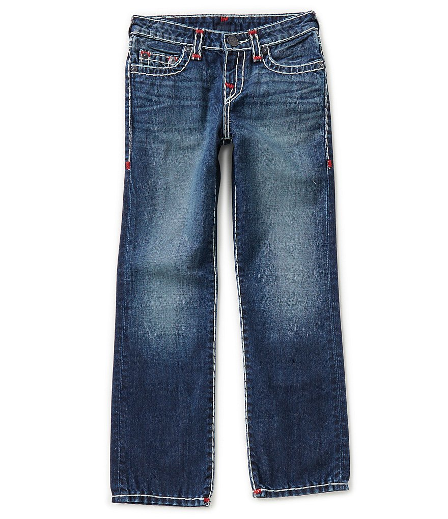 True Religion Big Boys 8-20 Ricky Contrast Jeans