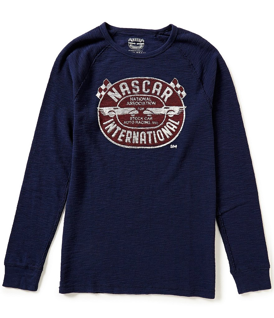Lucky Brand Nascar Graphic Long-Sleeve Thermal
