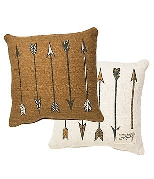 Primitives by Kathy Arrows Reversible Square Pillow