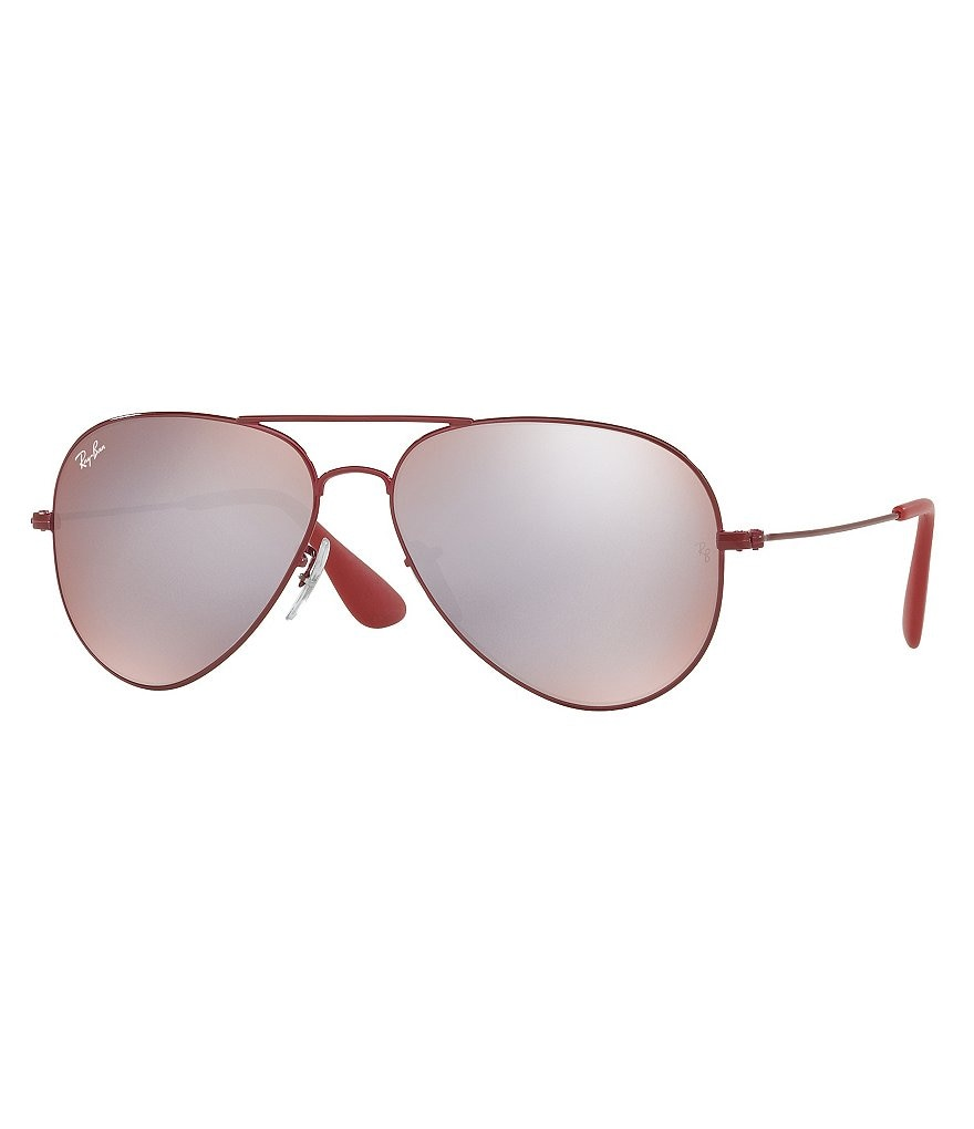 Ray-Ban Flash/Mirror Aviator Sunglasses