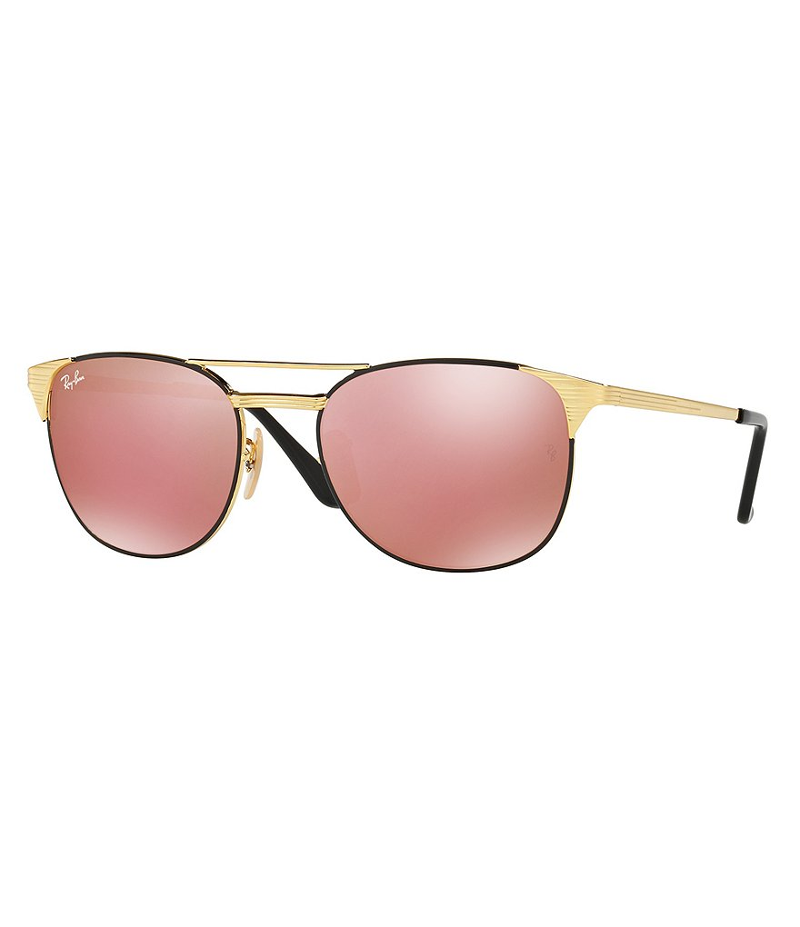 Ray-Ban Signet Square Mirrored Sunglasses