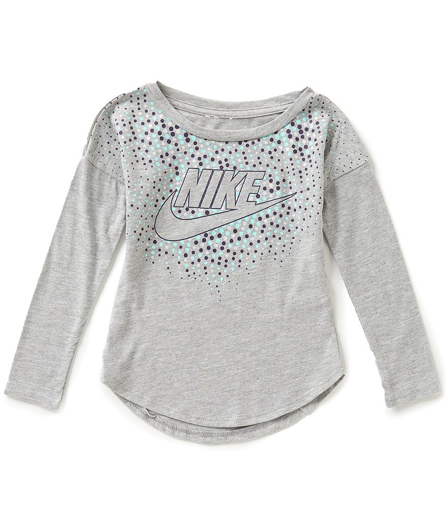 Nike Little Girls 2T-6X Club Modern Tee