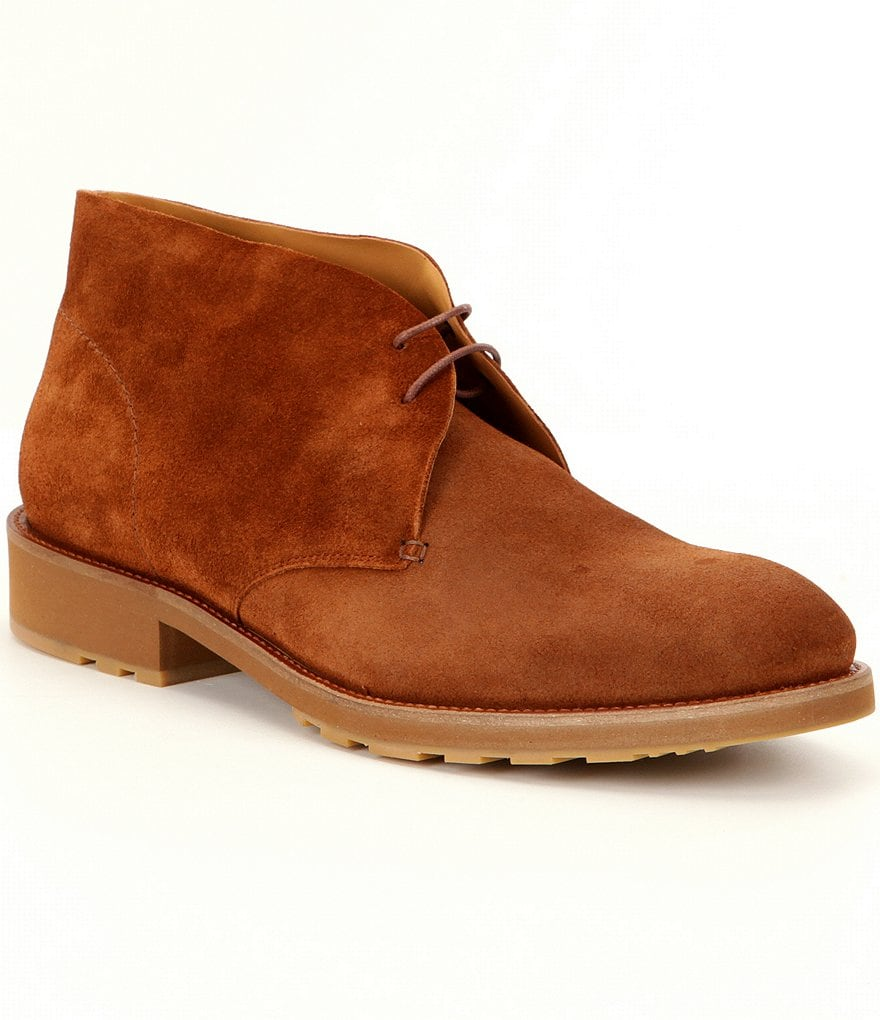 Vince Camuto Men´s Ardo Suede Lace-Up Chukka Boots