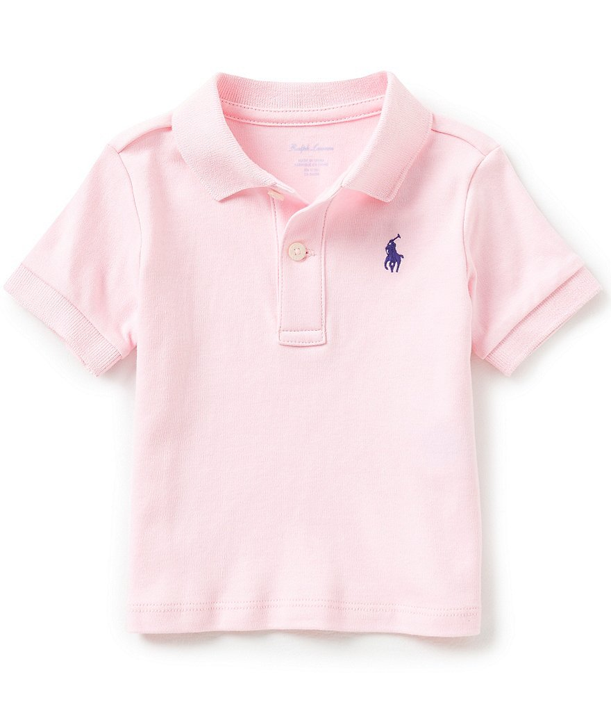 Ralph Lauren Childrenswear Baby Boys 3-24 Months Short-Sleeve Interlock Polo Shirt