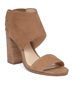 Vince Camuto Keisha Hooded Leather Block Heel Sandals