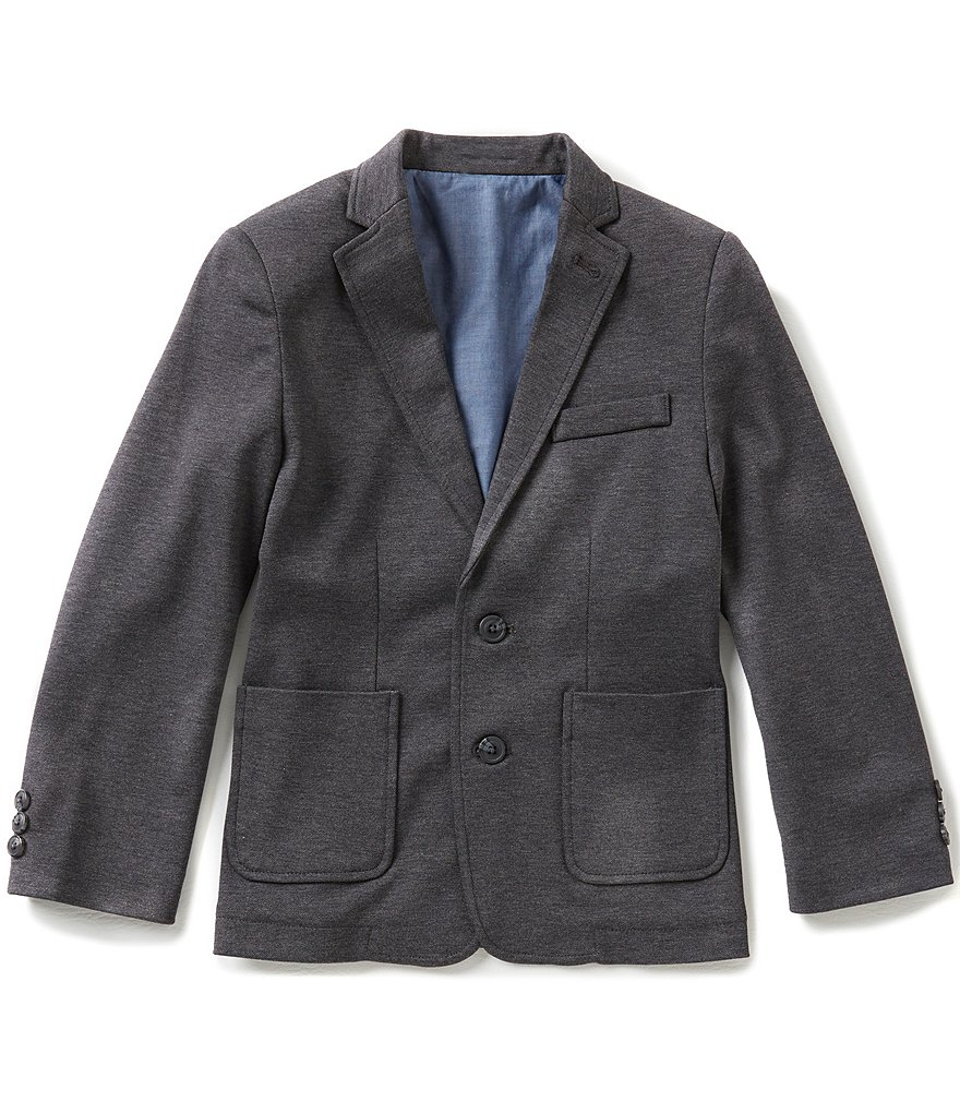 Class Club Big Boys 8-20 Knit Blazer