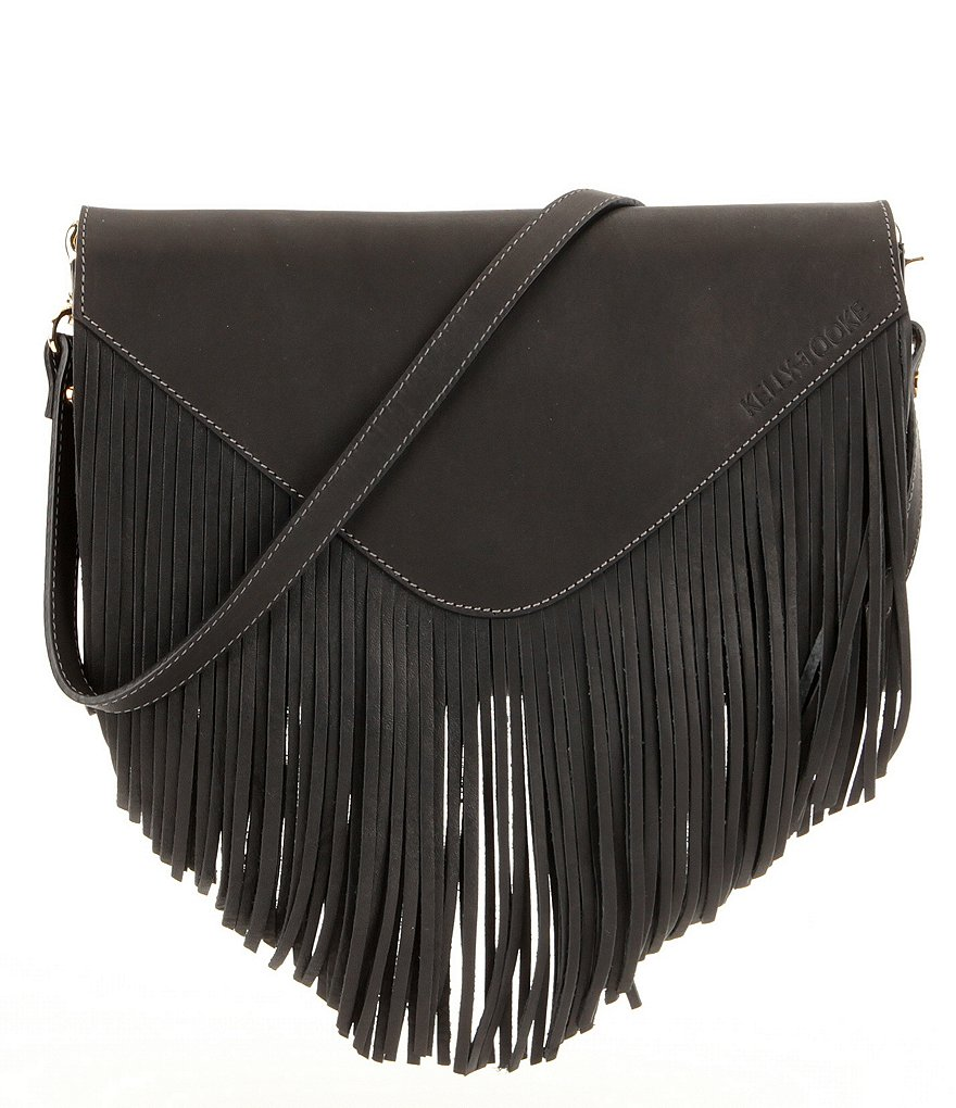 Kelly-Tooke Aspen Waterproof Fringed Cross-Body Bag