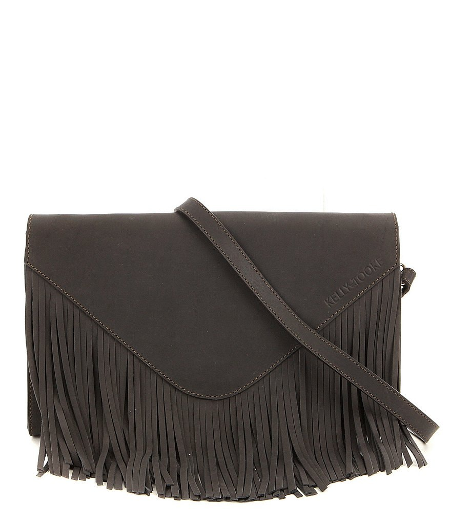 Kelly-Tooke Aspen Fringed Cross-Body Bag