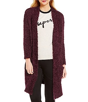Gianni Bini Ripley Long Sleeve Maxi Knit Cardigan