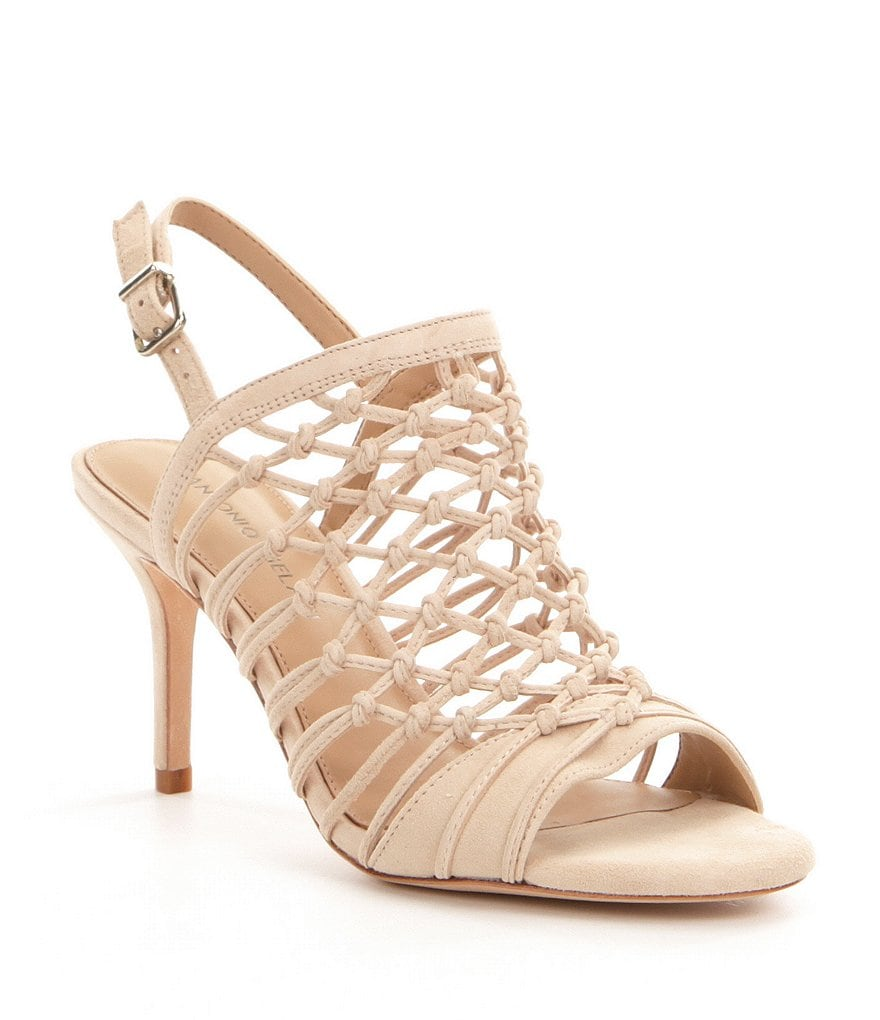 Antonio Melani Jair Caged Dress Sandals