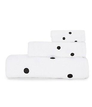 kate spade new york Deco Dot Bath Towels
