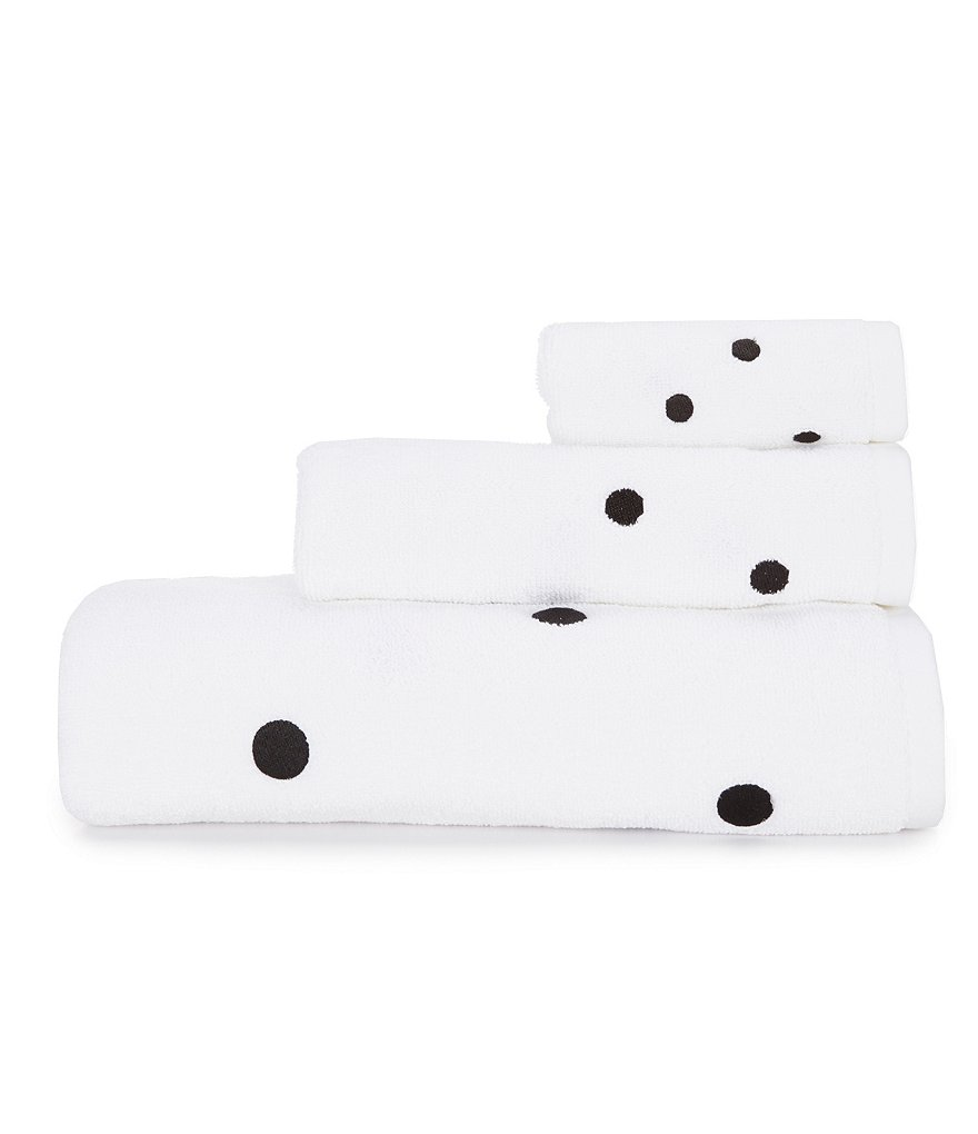 kate spade new york Deco Dot Bath Towels