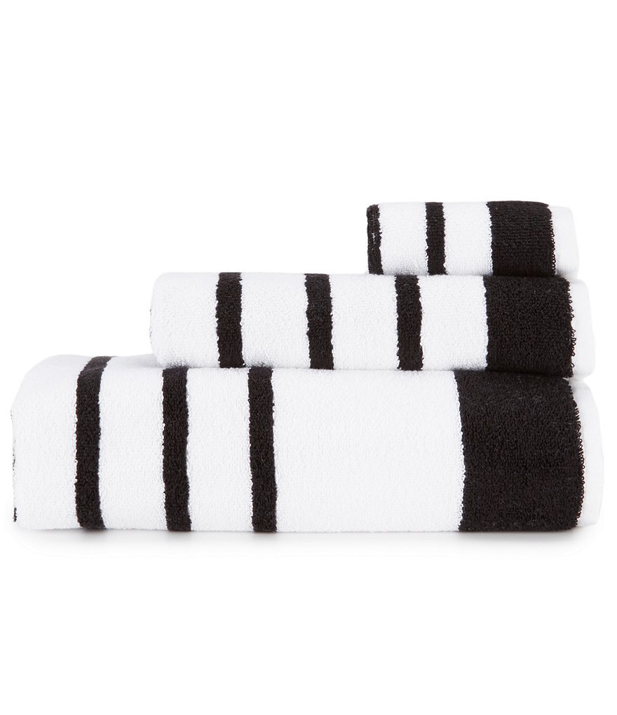 kate spade new york Harbour Stripe Bath Towels