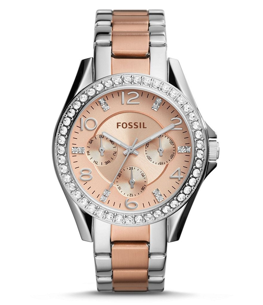 Fossil Riley Multifunction Bracelet Watch