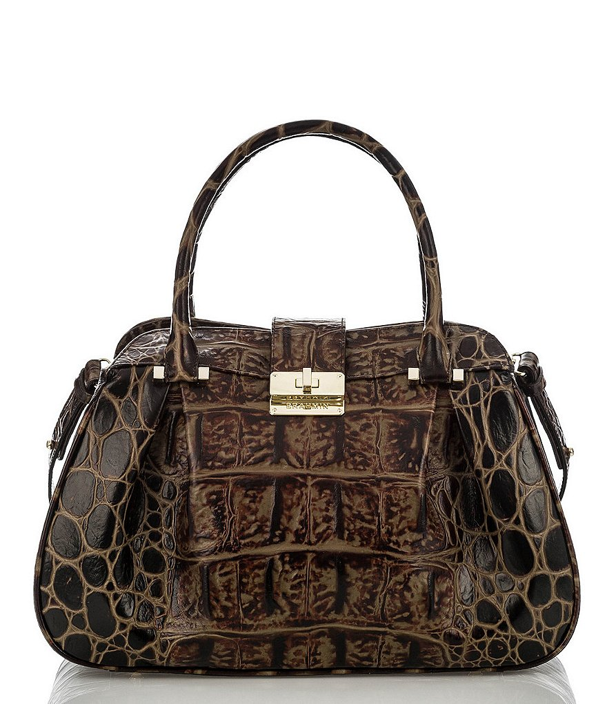 Brahmin Orinoco Collection Laura Satchel