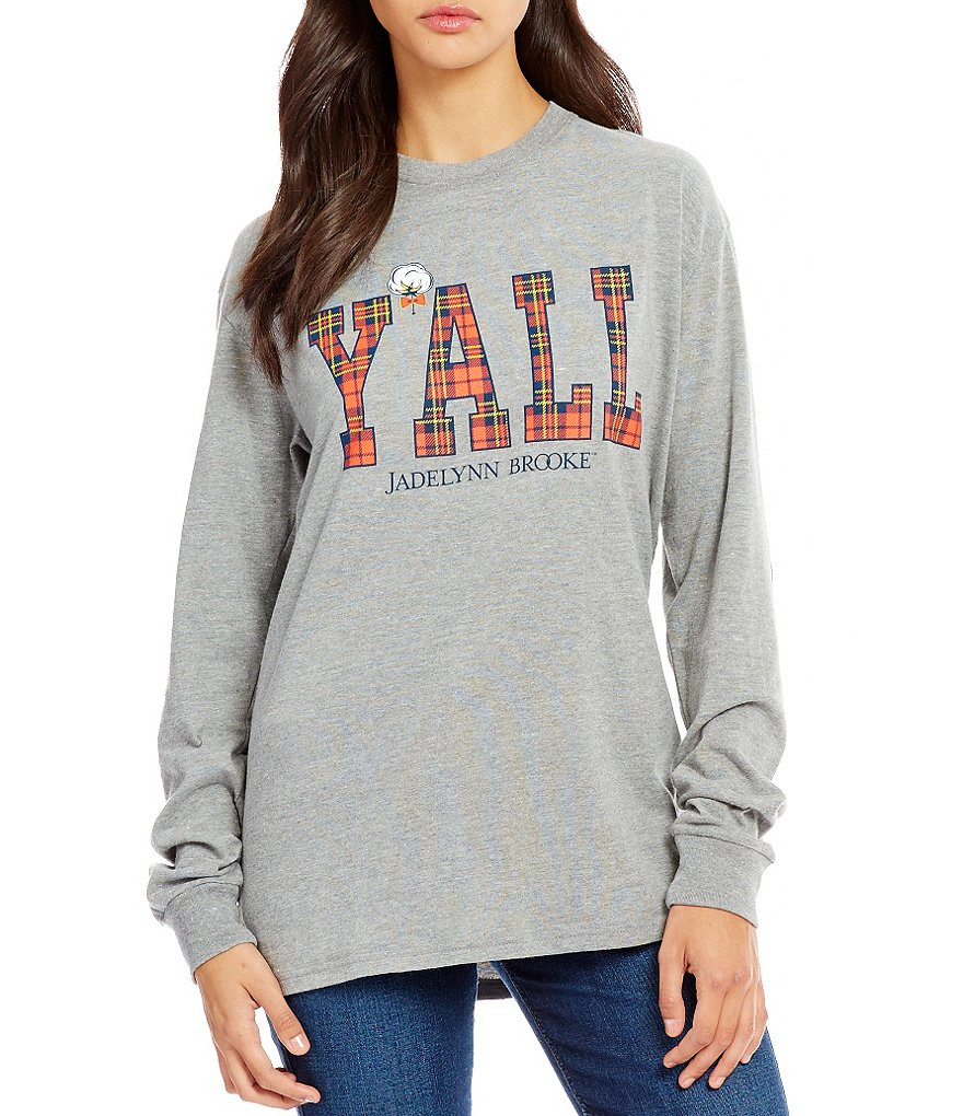 Jadelynn Brooke Y´all Long Sleeve Tee