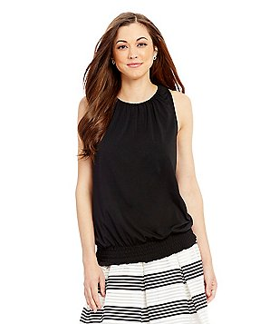 Antonio Melani Cheryl Crew Neck Sleeveless Knit Top