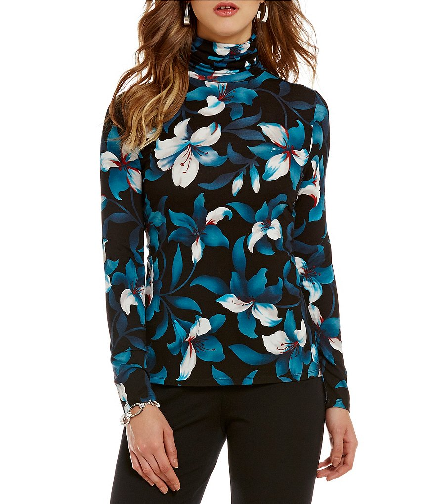 Investments Petites Essential Turtleneck Top