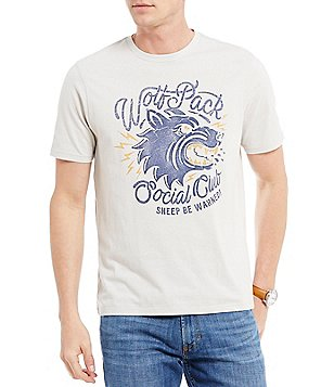 Cremieux Jeans Wolf Pack Short-Sleeve Graphic Tee