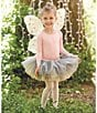 Color:Pink - Image 2 - Mud Pie Baby Girls Glitter Fairy Wings