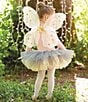 Color:Pink - Image 3 - Mud Pie Baby Girls Glitter Fairy Wings