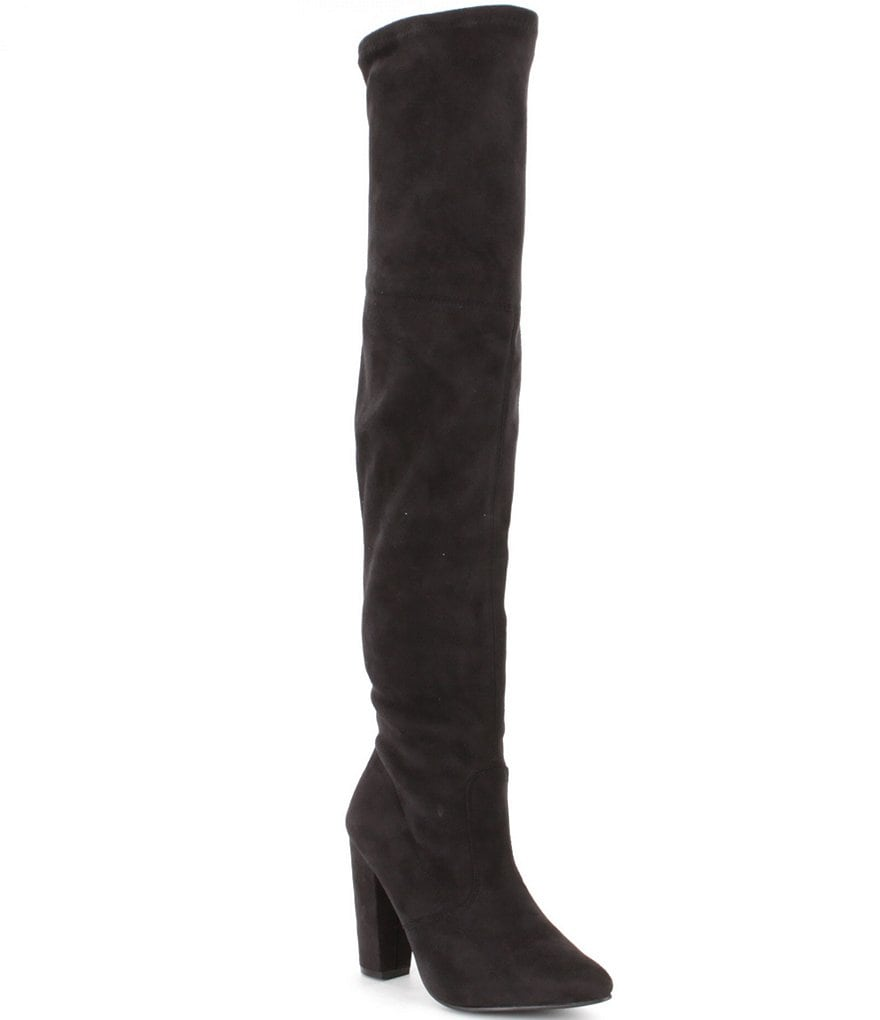 Steve Madden Rocking Over the Knee Microsuede Dress Boots