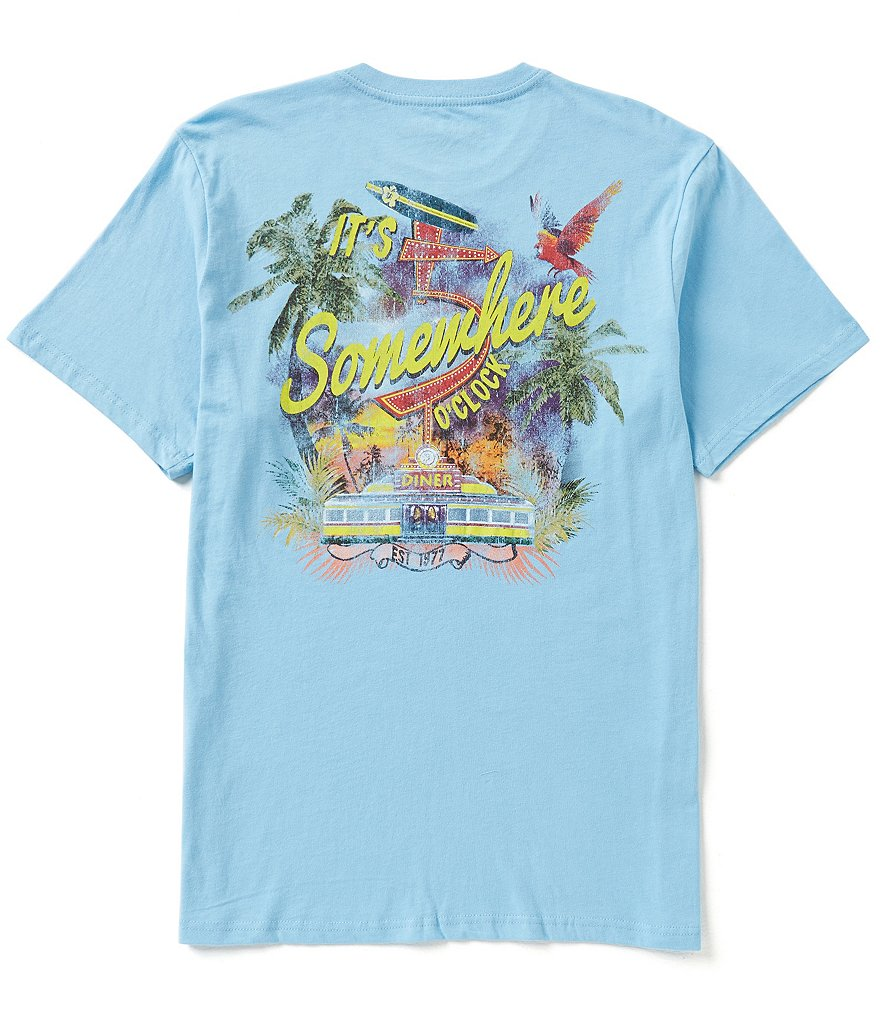 Margaritaville Five O´Clock Short-Sleeve Graphic Tee